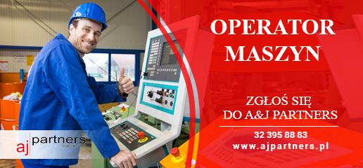 Oferta pracy operator maszyn - A&J Partners